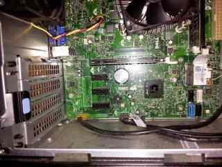 Motherboard diagnostic and replacements